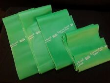 """4 ct Body Sport Heavy Resistance Latex Free Exercise Bands Approx. 4"""" x 45"""""""