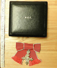 Cased Lady's Civil MBE Medal Most Excellent Order Of The British Empire (3676)