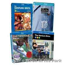 Venture Bros Brothers Series Complete Seasons 3 4 5 6 Box / BluRay Set(s) NEW!