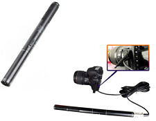 Shotgun Interview Condenser Microphone Mic For Camera Nikon Canon Camcorder Sony
