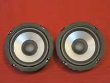 """NEW (2) 5"""" Woofers Replacement Speakers.Home Audio.Pair.8 ohm.five inch midrange"""