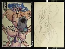RARE COMIC 1ST EDITIONS: Bazooka Jules #2 (Tank Girl) + Artist Neil Goose Sketch