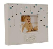 "BABY BOY Cuori e Stelle PHOTO ALBUM REGALO 80 x 6 ""x 4"" 77920"