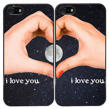 "Cover di coppia per iPhone 5 e 5S ""Twilight Love"", idea regalo per lui e lei!"