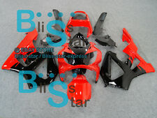 Red Black ABS Fairing Bodywork Plastic HONDA CBR900 CBR929RR 2000-2001 33 C4
