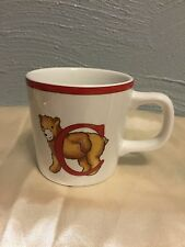 Tiffany & Co Alphabet Bears Childs Cup Porcelain Japan 1994 Vintage