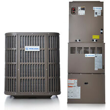 3 Ton A/C and Gas Complete Split System 14 Seer 80% AFUE 90K BTU by MRCOOL