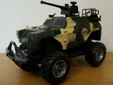 ARMY TANK Monster Truck Buggy RADIO TELECOMANDO AUTO FAST SPEED SCALA 1:24