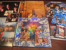 ROLLING STONES  SATANIC MAJESTIES REQUEST JAPAN OBI 8  Replica Sealed Box Set