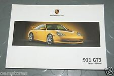 2004 Porsche GT3 996 911 Owners Manual - Book