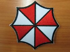 Resident Evil Umbrella Corporation Badge Embroidered Iron on Patch High Quality