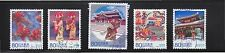JAPAN 2012 (PREFECTURE) OKINAWA 60TH ANNIV. OF LOCAL LAW COMP. SET OF 5 STAMPS I