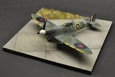 DIO72 no.72021 Concrete airstrip base 1:72 scale aeroplane diorama display base