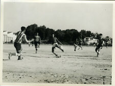 PHOTO ANCIENNE - VINTAGE SNAPSHOT - SPORT FOOTBALL MATCH ÉQUIPE ACTION - TEAM 2