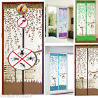 Home Mesh Insect Fly Bug Mosquito Door Curtain Net Netting Mesh Screen Magnets