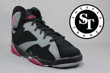 AIR JORDAN 7 VII RETRO GG 442960-008 SPORT FUCHSIA FLASH BLACK  GREY SIZE: 6Y