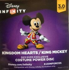 D23 Disney Infinity 3.0 Kingdom Hearts King Mickey Power Disc RARE Exclusive