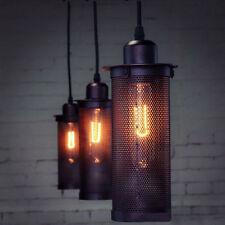 Neu E27 Metall Retro Vintage Industrial Deckenlampe Industrielampe Hängeleuchte