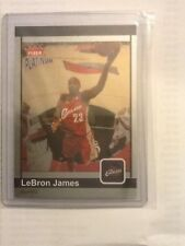 Lebron James Fleer Platinum Finish 2003 2004 03 04 80/100 Rookie Insert