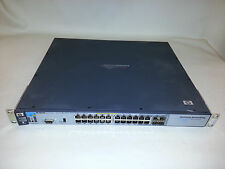 HP J8692A 3500yl-24G-PWR ProCurve Switch 24 Gigabit port 1U PoE 10/100/1000