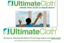 ULTIMATE CLOTH STREAK FREE ECO safe for every surface electronics mirrors car RV