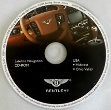 04 05 BENTLEY CONTINENTAL GT FLYING SPUR NAVIGATION NAV MAP DISC CD 5 MIDWEST OH