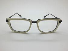 NEW DITA BRAVADO DRX-2028F Bone/Black Titanium 52mm Eyeglasses w/ Box