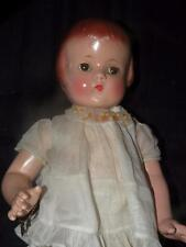 "VINTAGE  PATSY LOU DOLL BY EFFANBEE 22"" TALL BRACELET OLD CLOTHES 1934"