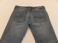 Buffalo by David Bitton Driven 34 x 28 1/2 Straight Distressed Men's Jeans