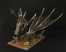 WARHAMMER AGE OF SIGMAR VAMPIRE COUNTS VAMPIRE LORD ON ZOMBIE DRAGON PAINTED