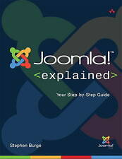 Joomla! Explained: Your Step-by-Step Guide (Joomla! Press) by Burge, Stephen