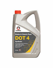 Comma DOT 4 Synthetic Brake Fluid 5 Litre (Can be mix with DOT 3 Fluids) - BF45L
