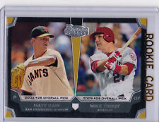 MIKE TROUT Bowman DRAFT PICK ROOKIE CARD Baseball Top Prospect ANGELS Insert RC!