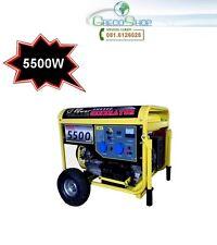 Gruppo elettrogeno/Generatore di corrente 5.5KW  accensione elettrica con ruote