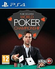 Pure hold 'em world poker championnats (Playstation 4) new & sealed