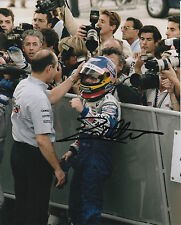 JACQUES VILLENEUVE HAND SIGNED ROTHMANS WILLIAMS RENAULT FORMULA 1 12X8 PHOTO 5.