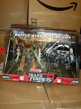 Transformers Target Exclusive Movie 2007 MEGATRON JAZZ Battle Over Mission City