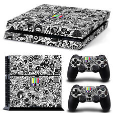 PS4 Skin PopArt Designfolie Sticker Playstation 4 Vinyl Schutzfolie - Matt