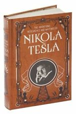 The Inventions Researches and Writings of Nikola Tesla Leather Bound Sealed