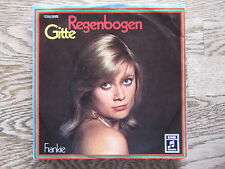 GITTE - regenbogen SINGLE 7""