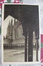 CPA Abbaye le cloître Mont-Saint-Michel Basse Normandie