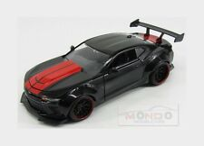 Chevrolet Camaro Ss Custom Coupe 2016 Black Red Jada Toys 1:24 JADA98137BK