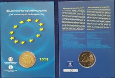 "MDS GRIECHENLAND 2 EURO 2015 ""30 JAHRE EUROPA-FLAGGE"" IN COINCARD"