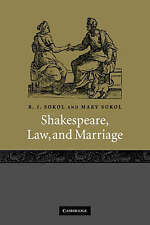 Shakespeare, Law, and Marriage-ExLibrary