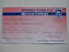 Ipswich town/manchester united 01/05/1994 used ticket stub