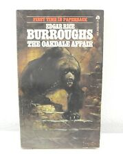 The Oakdale Affair By Edgar Rice Burroughs (1967) Paperback