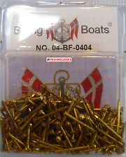 Billing BOATS Accessorio bf-0404 15mm in OTTONE CHIODI (brads) x 25gm OTTONE Pack NUOVO