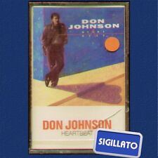 "DON JOHNSON "" HEARTBEAT "" MUSICASSETTA SIGILLATA  (K7 - MC)"