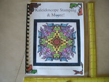 kaleidoscope stamping $9.99  how to make rubber stamped  images with your stamps