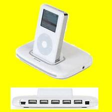 Tunesync iPod/iPhone USB Dock/5 Port Hub F5U255EA Euro BELKIN LIFETIME WARRANTY
